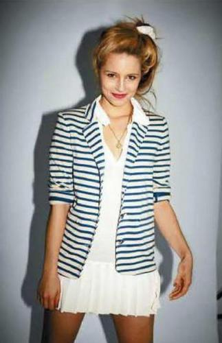 Glee wallpaper entitled Dianna's Jalouse Magazine Photo Shoot
