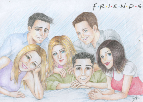 Friends wallpaper titled Drawing