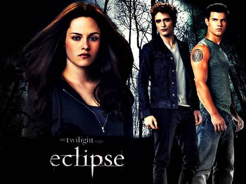 Eclipse Love triangle: Bella, Edward and Jacob