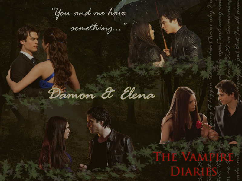 vampire diaries wallpaper damon and. Elena and Damon - The Vampire