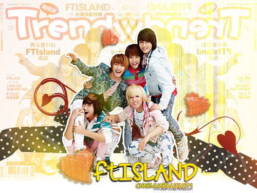 F.T. Island wallpaper entitled FT Island