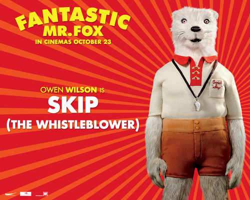 Fantastic Mr. fox - Wallpaer - Coach Skip