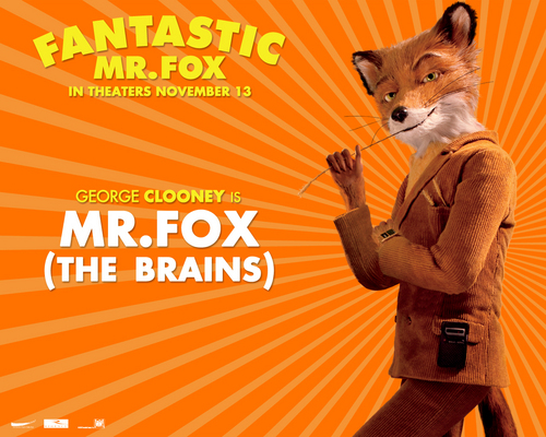 Fantastic Mr. fox - kertas dinding - Mr. fox