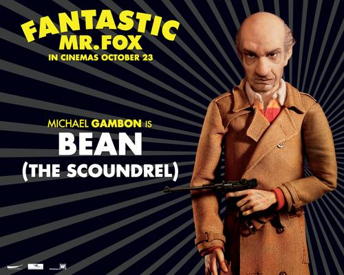 Fantastic Mr. Fox- वॉलपेपर - Mr. सेम, बीन