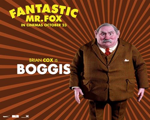 Fantastic mr. लोमड़ी, फॉक्स - वॉलपेपर - Boggis