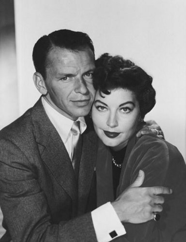 Classic Movies wallpaper entitled Frank Sinatra and Ava Gardner