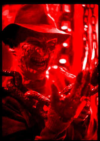 Freddy Krueger kertas dinding called Freddy Krueger