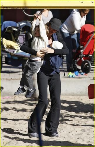 Gisele Bundchen & Tom Brady: Playground Pair