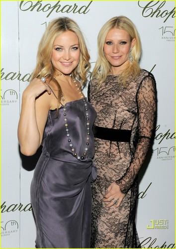 Gwyneth Paltrow & Kate Hudson: Chopard Chicks
