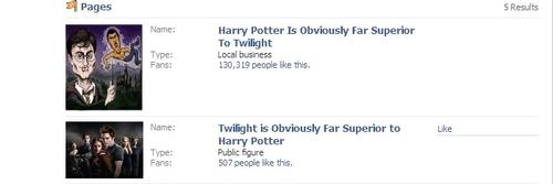 HAHA even Facebook agrees.