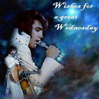 elvis presley wallpaper called Happy Wednesday