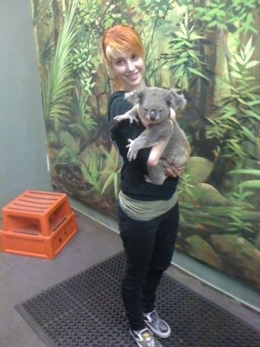 Hayley & Koala