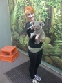 Hayley & Koala - paramore photo