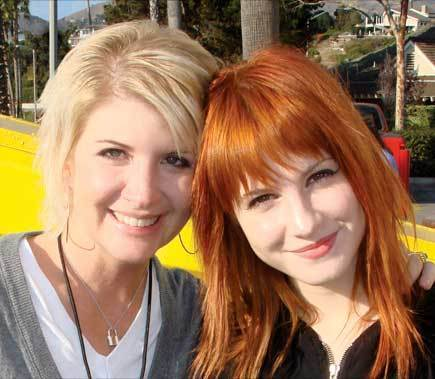 Hayley and her mum