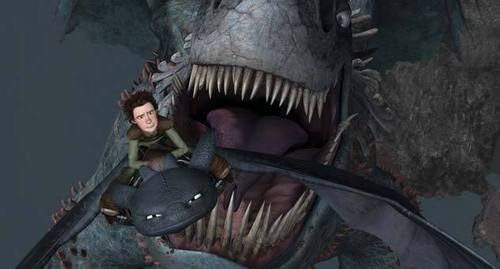 Hiccup vs. The Green death