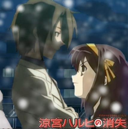 Itsuki and Haruhi - Snow