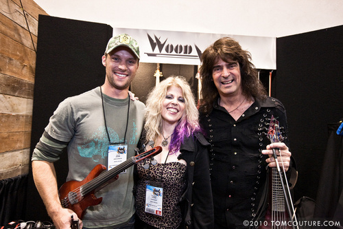 Jesse Spencer wallpaper called JS - NAMM 2010 - The Mark Wood Booth