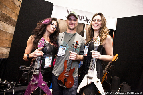 JS - NAMM 2010 - The Mark Wood Booth