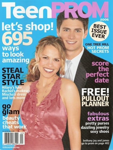 James and Joy in magazine