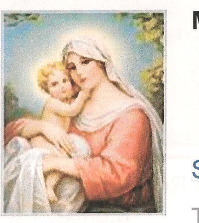 Иисус and Mary