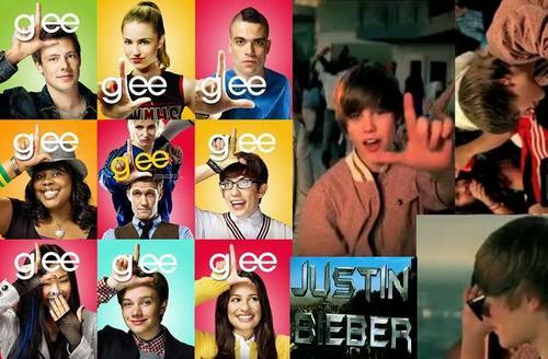 Justin Bieber is shabiki of Glee! lol