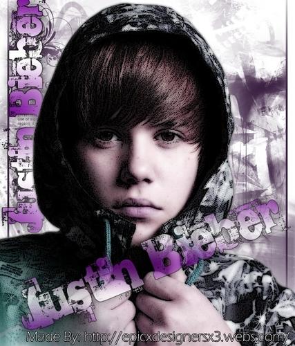 Justin bieber sign.