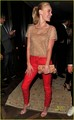 Kate Bosworth: Valentino Red Pants Perfect