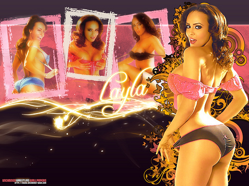 WWE LAYLA wallpaper entitled Layla Magazine