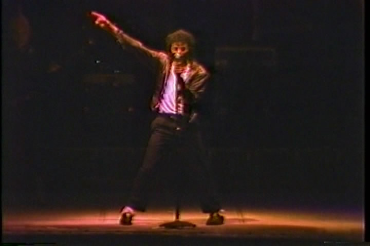 MJ in soft focus