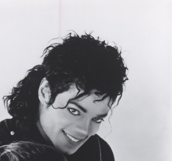 MJ in soft focus