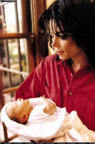 MJ with his kids