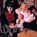 MJ with his kids - michael-jackson photo
