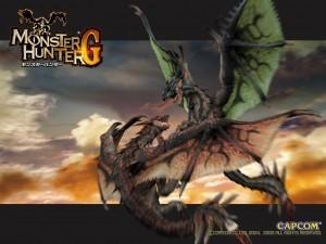 MONSTER HUNTER G-Japan version of tri