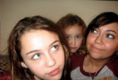 Miley, Noah, & Brandi (RARE)