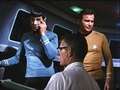 Nimoy - TOS Behind the Scenes - leonard-nimoy photo
