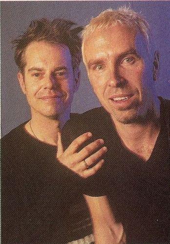 Paul with Nick Seymour