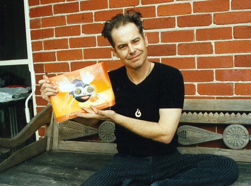Paul with Wings off Flies book