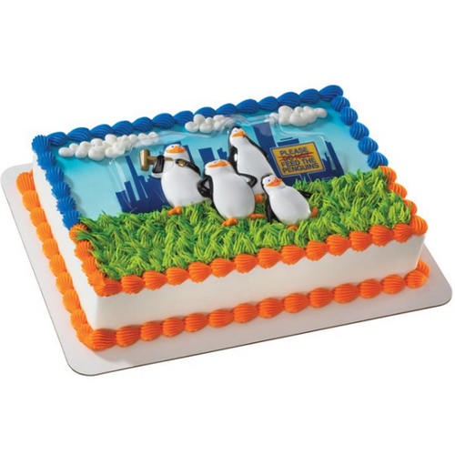 Penguins Cake Topper