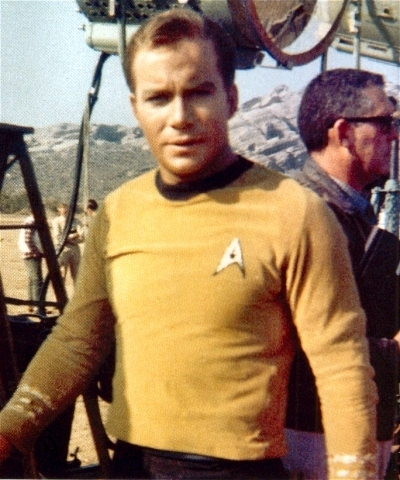 William Shatner wallpaper titled ST - Behind the Scenes