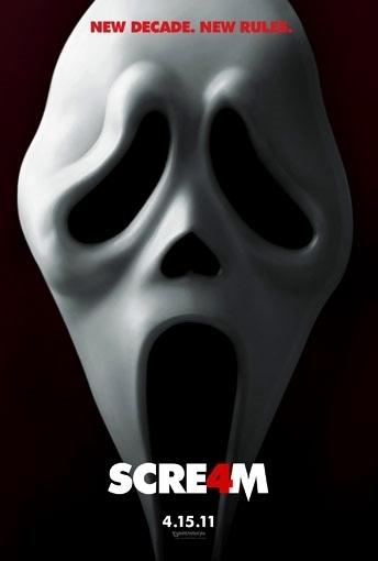 Scream 4 Teaser Poster