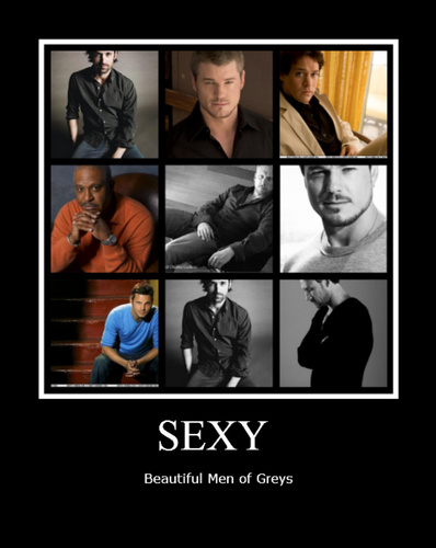 Grey's Anatomy wallpaper called Sexy men of greys