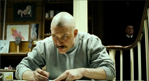 TOM HARDY AS BRONSON