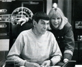 TOS - Behind the Scenes - leonard-nimoy photo