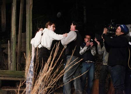 TVD_1x20_Blood Brothers_behind the scenes