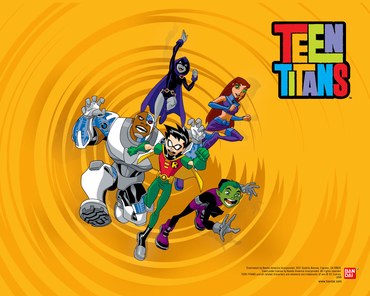video teen titans