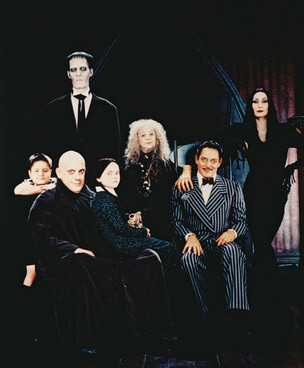 Addams Family wallpaper called The Addams