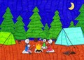 The Hotchner family -- Camping trip
