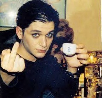 Two words...Brian Molko