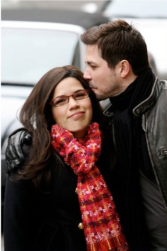 Ugly Betty - Episode 4.18- Londres Calling - filming
