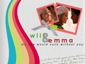 Will and Emma - glee-couples wallpaper